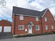 semi detached home to rent in Joyce Close, Putnoe