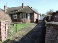 Terraced Bungalow in Orchard Lane, Harrold