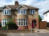 3 bed semi detached property in Rosamond Road, Bedford