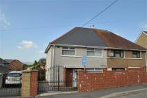 3 bedroom semi detached property for sale in Heol Y De, Aberdare...