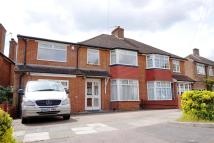 semi detached property in Lowther Drive, OAKWOOD