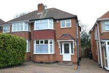 3 bedroom semi detached property in Chadwick Avenue, Rubery...