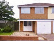 semi detached house in Corinne Close, Rubery...
