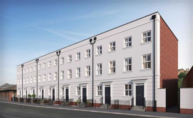 4 bedroom town house for sale in chapel street royal for Modern homes leamington