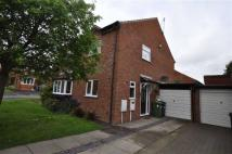 2 bed semi detached property in Packwood Close...