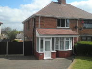 Tansley Road semi detached house to rent