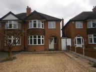 3 bedroom semi detached property to rent in Newton Road, Great Barr...