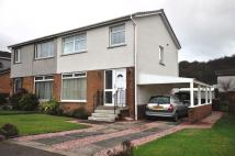 3 bed semi detached property in Lomond Road, Wemyss Bay...