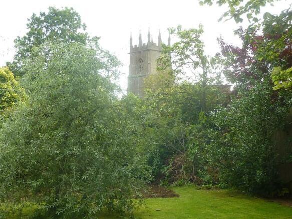 View Of Church From Rear Garden