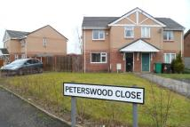 semi detached house in Peterswood Close...