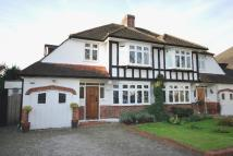 The semi detached property to rent