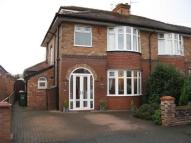semi detached property in Burnside Road, Gatley...