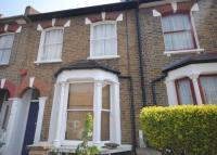 Terraced house in Hollydale Road London...