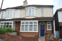 semi detached property for sale in Ruskin Walk Herne Hill...