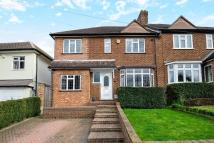 4 bed semi detached house in Kechill Gardens Bromley...