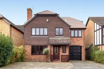 Detached house in Hathaway Close Bromley...