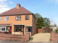 semi detached house in Waresley Court Road...