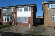 3 bed semi detached property in Churchill Way...