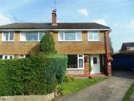 semi detached home to rent in Elm Close, Poynton