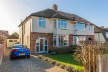 semi detached house in Sandfield Road...