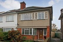 Bryant Road semi detached house for sale