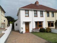 semi detached property in Cylch-Y-Llan, New Quay...