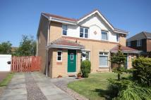 semi detached house in Ossian Drive, Murieston...