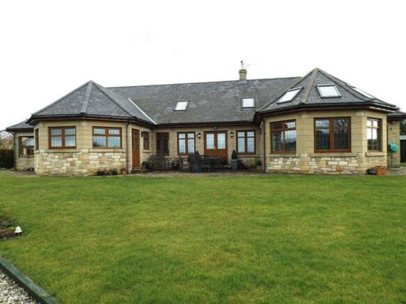 4 bedroom detached bungalow for sale in fairmoor morpeth for 4 bedroom dormer bungalow plans