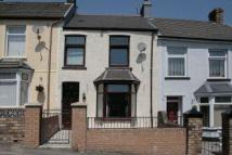 Terraced house in Brynheulog Street...