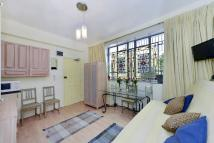Studio flat to rent in Belgrave Road, Pimlico...