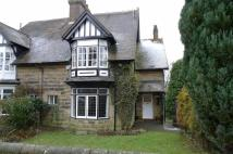 semi detached property in St Peters Road, Buxton...