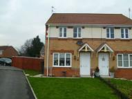semi detached house in Matthews Drive...
