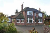 Detached house for sale in Crewe Road, Nantwich...