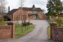 Detached home for sale in Pinsley Green, Nantwich