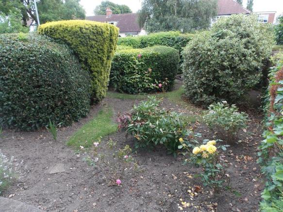 Front Garden Which Could Be Addpated To Offer Furt