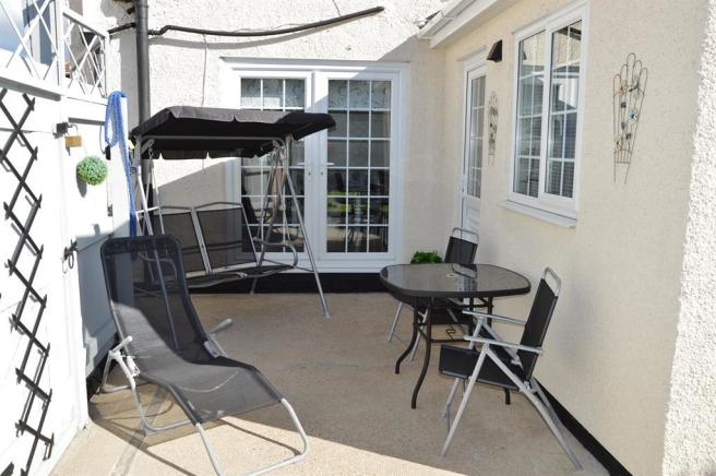 Concreted Patio