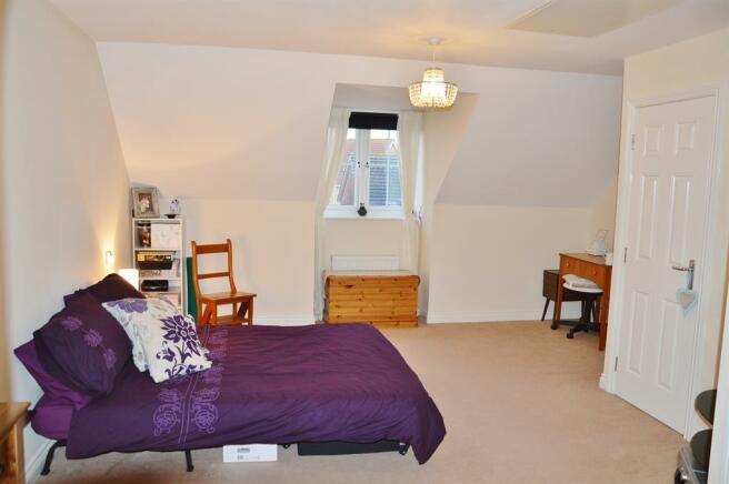 Master Bedroom on Top Floor with En Suite and Dres