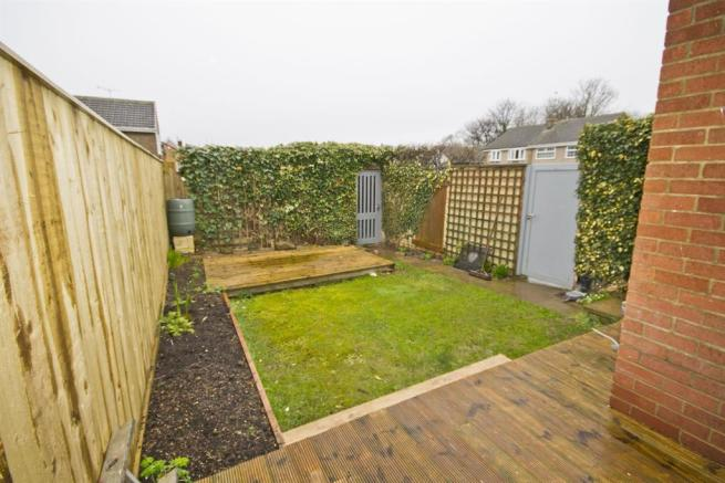 Garden and Decked Area