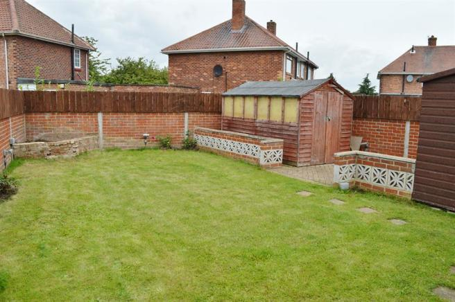 Lawned Garden at Rear
