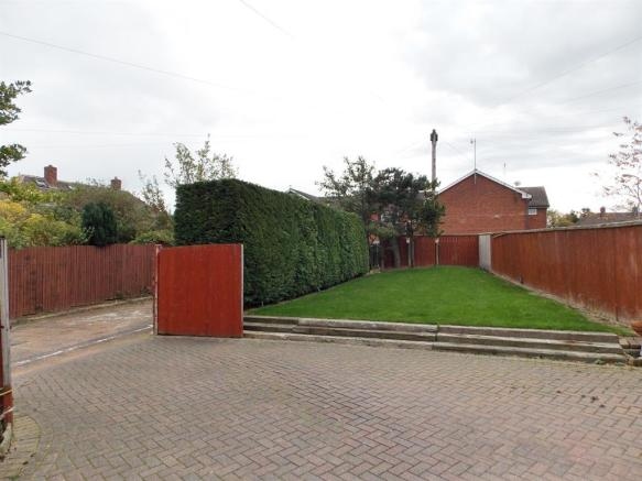Driveway and Rear Garden