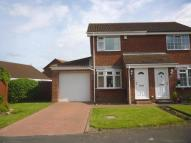 2 bed semi detached property in Butterfield Close...