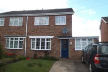 semi detached home to rent in Eagle Drive, Welton...