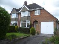 3 bed semi detached house in Clive Road, Pattingham...