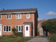 semi detached house to rent in Canterbury Drive, Perton...