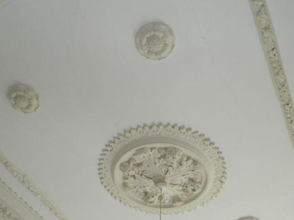 Lounge ceiling...