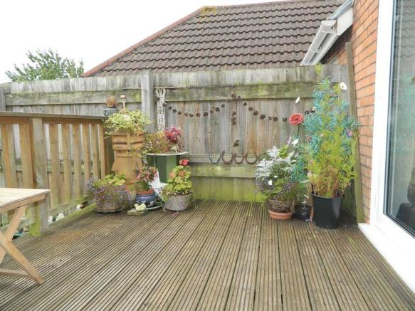 Area of Decking