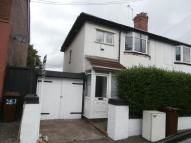 semi detached property in Willenhall Road...