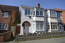3 bed semi detached home in Chester Street...