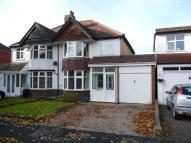 Littleover Avenue semi detached property to rent