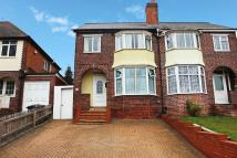semi detached property in Cole Valley Road...